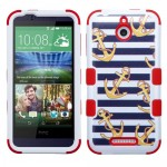 Funda Protector Triple Layer HTC One Desire 510 Blanco / Anclas (17004338) by www.tiendakimerex.com