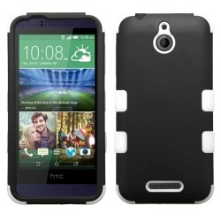 Funda Protector Triple Layer HTC One Desire 510 512 Negro / Blanco
