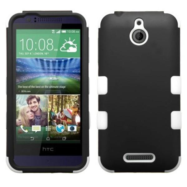 Funda Protector Triple Layer HTC One Desire 510 Negro / Blanco (17004321) by www.tiendakimerex.com