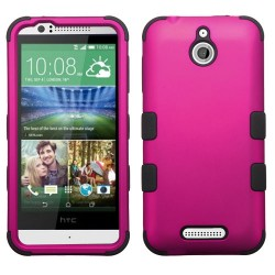 Funda Protector Triple Layer HTC One Desire 510 512 Rosa / Negro