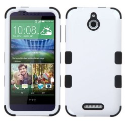 Funda Protector Triple Layer HTC One Desire 510 512 Blanco / Negro