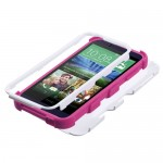 Funda Protector Triple Layer HTC One Desire 510 Blanco / Rosa (17004320) by www.tiendakimerex.com