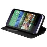 Funda Cartera Piel Sintetica HTC One Desire 510 Negro (17004390) by www.tiendakimerex.com