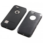 Funda Protector Apple Iphone 6 Mixto Negro Carbon Triple Layer (17003975) by www.tiendakimerex.com