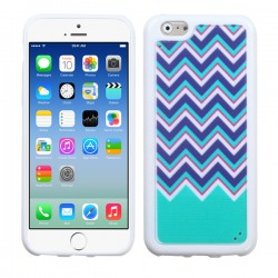 Funda Protector TPU Apple Iphone 6 Ziggy Zag Verde