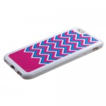 Funda Protector TPU Apple Iphone 6 Ziggy Zag Rosa (17004446) by www.tiendakimerex.com