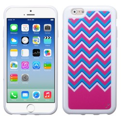 Funda Protector TPU  Iphone 6 Ziggy Zag Rosa