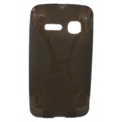Funda Protector Alcatel 4030 Pop Gris Humo