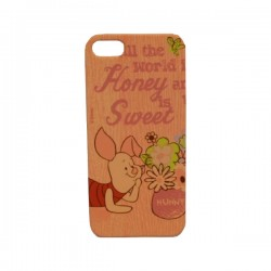 Funda Protector Mobo Apple Iphone 5/5s Piglet hunny/Rosa