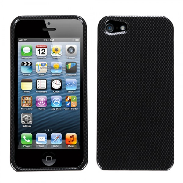 Protector Iphone 5 Negro Carbon (17001533) by www.tiendakimerex.com
