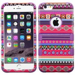 Funda Protector Triple Layer Apple Iphone 6 plus Morado Figuras (17004459) by www.tiendakimerex.com