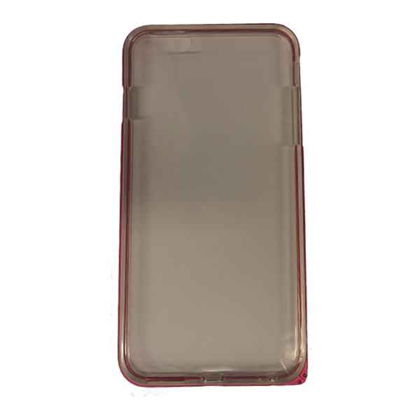 Funda Protector TPU Apple Iphone 6 Plus Transparente Marco Rosa (15004604) by www.tiendakimerex.com