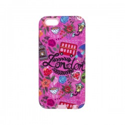 Funda Protector Mixto Uso Rudo Apple Iphone 6 London Rosa