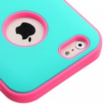 Funda Protector Mixto Apple Iphone 6 Antiderrapante Aqua / Rosa (17003907) by www.tiendakimerex.com