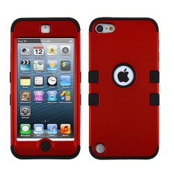 Funda Protector Triple Layer  Ipod Touch 5G / 6G Rojo Titanium / Negro