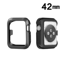 Protector Apple 42 mm Watch Serie 3 Silicon Negro