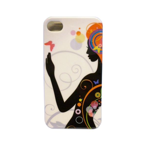 Funda Protector iPhone 4G/4S Silueta Negra (15002255) by www.tiendakimerex.com