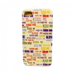 Funda Protector iPhone 4 Kiss Me Colores