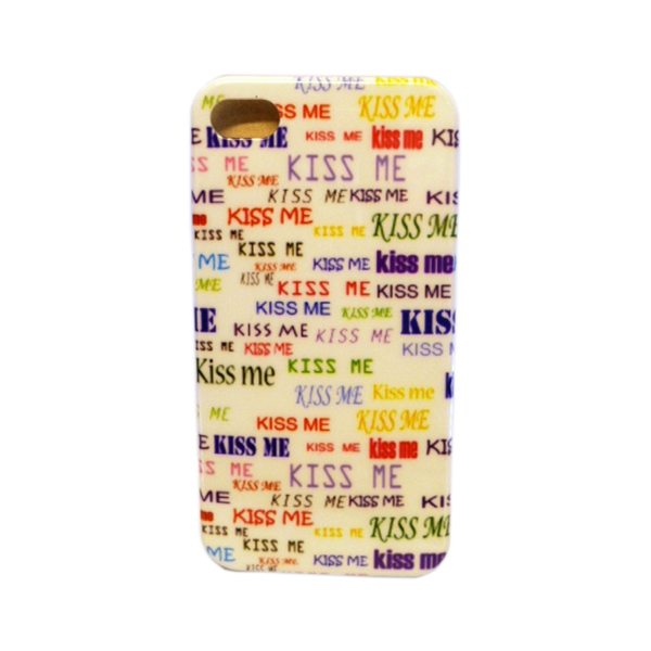 Funda Protector iPhone 4G/4S Kiss Me Colores (15002258) by www.tiendakimerex.com