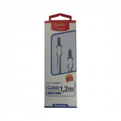 Cable Duplimax Audio Plug 3.5mm De 1.2M En Blister