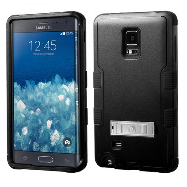 Funda Protector Triple Layer Samsung Galaxy Note Edge Negro pie metalico (17004427) by www.tiendakimerex.com