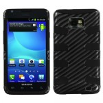 Funda Protector Galaxy S II i777 i9100 Gris Carbon Mixto (17001481) by www.tiendakimerex.com
