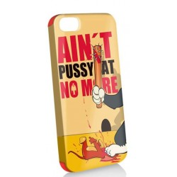 Funda Protector   Iphone 5 aint pussy cat no more + stylus + protector pantalla