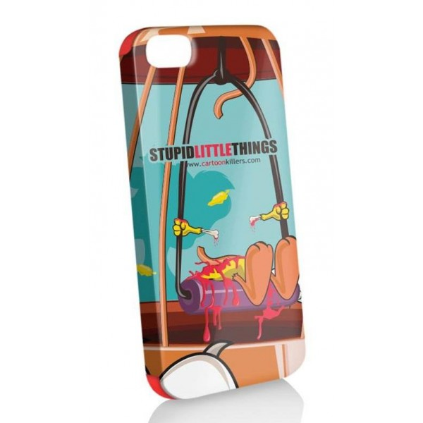 Funda Protector Apple  iphone 5 stupid little things + stylus + protector pantalla (26002696) by www.tiendakimerex.com
