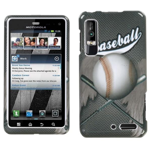 Protector Funda Motorola Droid 3 (XT862 - XT860) Baseball (17001039) by www.tiendakimerex.com
