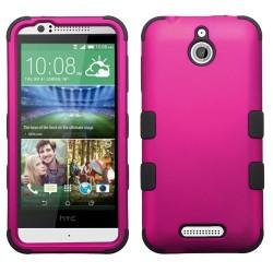 Funda Protector Triple Layer HTC One Desire 510 512 Rosa / Negro
