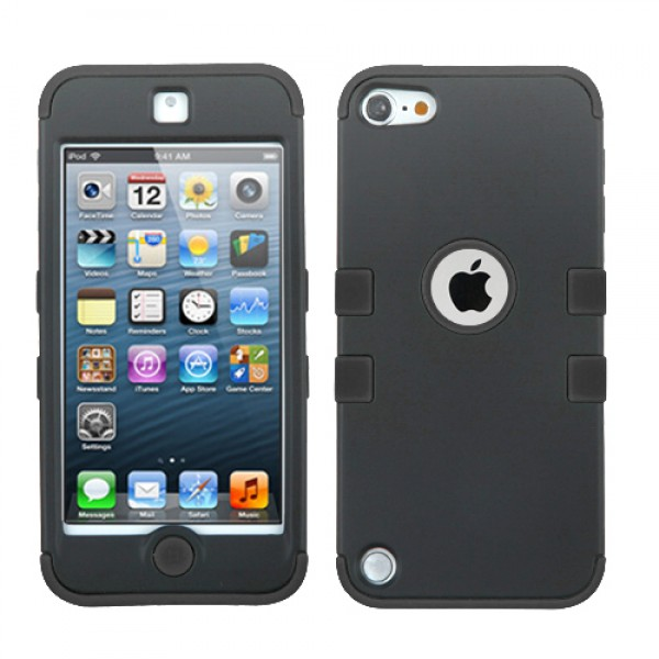 Funda Protector Triple Layer Ipod Touch 5 Negro Doble  (17004362) by www.tiendakimerex.com