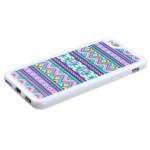 Funda Protector TPU Apple Iphone 6 Ziggy Zag Lila (17004447) by www.tiendakimerex.com