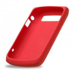 Funda Silicon Original Blackberry 9630 Guinda