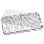 Funda Protector Iphone 5 Mixto Metalico Zebra Blanco (17001958) by www.tiendakimerex.com
