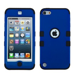 Funda Protector Triple Layer Apple Ipod Touch 5G / 6G Azul Titanium / Negro