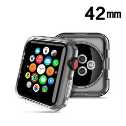 Protector Apple 42 mm Watch Serie 3 Silicon transparente