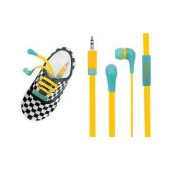 Audifonos Mobo Agujeta Azul Amarillo