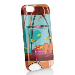 Funda Protector   iphone 5 stupid little things + stylus + protector pantalla
